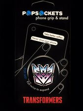 Authentic PopSockets Transformers Decepticon PopSocket Pop Socket Phone Holder