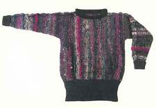 Dovetail Designs K2.3 | Multi-Color Sweater to Knit Pattern | Knitting
