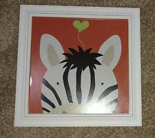 EUC Framed Art.com - Peek-a-Boo Zebra