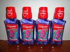 4 Colgate Kid Trolls Sparkle Bubble Fruit Anti-Cavity Fluoride Rinse 8.4 oz Each