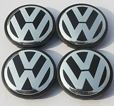 VOLKSWAGEN wheel centre hub caps Logo badge emblems for Golf Jetta Mk5 Passat B6