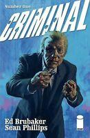 CRIMINAL #1 PHILLIPS COVER IMAGE COMICS COVER A 1ST PRINT BRUBAKER