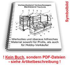 Verkaufsstand Verkaufswagen selbst bauen - Marktstand Technik Patente