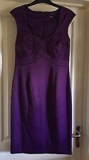 M&Co Stunning Purple Satin Dress, Size 12 - Beautiful!