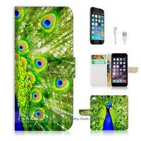 ( For iPhone 6 Plus / iPhone 6S Plus ) Case Cover Beautiful Peacock P0184