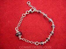 """Bracelet Argent 925 """"Perle Améthyste"""" 5.00g Amour True Love - Bijoux pur Cadeau"""