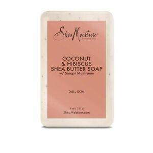 Shea Moisture Coconut & Hibiscus Shea Butter Soap 8 oz/230 g