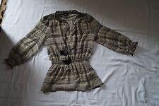 H&M hüftlange Damenblusen, - tops & -shirts im Blusen aus Polyester
