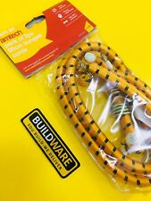 BUNGEE CORDS PACK OF 2Pc 60cm WITH STRONG METAL HOOKS S0600 AMTECH