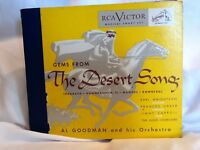Vintage Al Goodman And His Orchestra, Gems From The Desert Song 5 Records Set