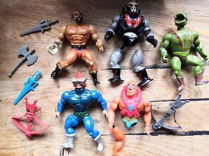 Vintage MOTU Mattel He-Man Masters Of The Universe Figures Damaged Job Lot
