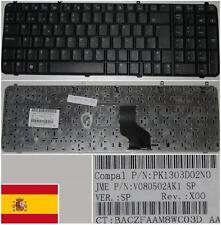 QWERTY KEYBOARD SPANISH HP DV9000 A900 A945 PK1303D02N0 V080502AK1 462383-071