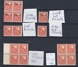 NEW ZEALAND 1935 PICTORIALS 2d. WHARE SELECTION WITH OFFICIALS, BLOCKS