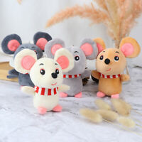 Cartoon Animal Small Mouse KeyChain Toy Doll Pendant Stuffed Hamster Toy ST