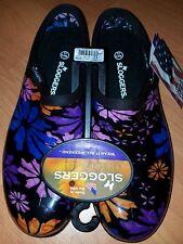 Sloggers  Size 11 Women's Flower Power Print Waterproof Shoe