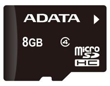 8GB Original Adata MicroSD SDHC TF Memory Card Class4 C4 f. Phone free Shipping