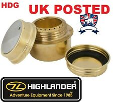 BRASS ALCOHOL METHS SPIRIT STOVE COOKER BURNER CAMPING ARMY SAS SF SURVIVAL