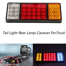 12V 36 LED Tail Light Rear Lamp Caravan ForTruck Trailer Ute 3 Colors Waterproof