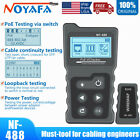 Network Cable Tester PoE Checker Inline PoE Voltage and Current Tester  NF-488