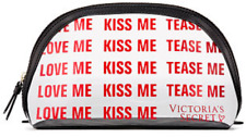 Victoria's Secret Cosmetic Bag Love Me Kiss Me Tease Me