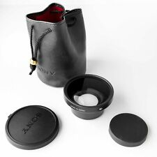 Sony VCL-0752H Wide Conversion Lens X0.7 , Caps, Pouch