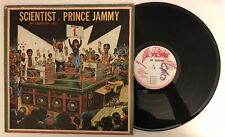 Scientist V Prince Jammy - Big Showdown - 1980 Jamaican Press LP (VG+)