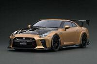 Ignition Model IG1534 1/18 TOP SECRET Nissan GT-R (R35) Gold