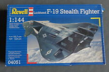nieuw 1988 REVELL 04051 Lockheed F-19 Stealth fighter vliegtuig 1:144 model kit