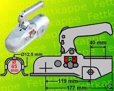 ALBE Kugelkupplung EM350R-D 3.500kg Ø65 EM350 Bohrungen: 2x Ø12,5 M12 - Zugmaul