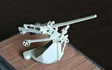MGM 080-042 1/42 Resin WWII German Flak 37mm SKC730U in UBTS LC/39