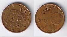 EURO-146 Fünf-Cent-Münze 0,05 € FRANKREICH 1999 Umlauf-Geldbörsenqualität Coin