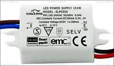 █►LED Trafo - 350mA 3x1 Watt High Power LEDs IP65 Wasserfest Konstantstromquelle