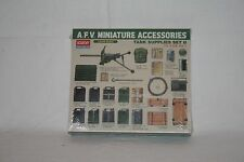 ACADEMY 1:35 1383 A.F.V. Miniature accessories Tank supplies Set II
