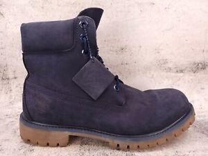 Timberland 6 Inch Premium Waterproof Boots 6718B Size 8.5 M Navy Blue