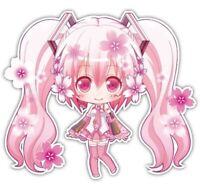 Vocaloid Hatsune Miku Anime Car Decal Sticker 053