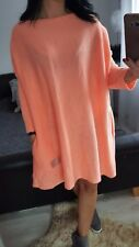 NEW Fashion Oversize Women's Ladies Girls Jumper coral long sleeves casual