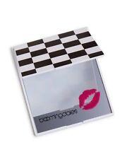 Bloomingdale's Checkerboard Compact Handheld Mirror + NEW MAKEUP BAG