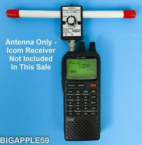 Active Ferrite Antenna .5 - 2.5 MHz For Icom IC-R20  AOR AR8200 Alinco DJ-X11*