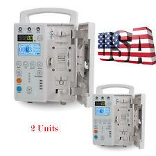 2pcs Rechargable Ac Power Medical Infusion Pump Injector Equipment Alarm Kvo Fda