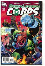 Green Lantern Corps 10 1st Series DC 2007 NM Guy Gardner Kilowag
