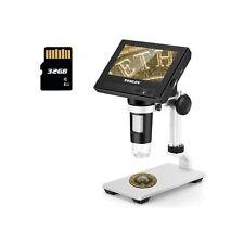 Tomlov 43 Lcd Digital Microscope 50x 1000x Magnification Coin Microscope W