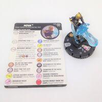 Heroclix Avengers Infinity set Nova #032 Rare figure w/card!