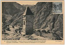 MAXIMUM CARD  - Architecture - ANDORRA 1953  75 cnts