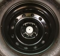 """FIAT QUBO SPACE SAVER SPARE WHEEL & TYRE 16"""" 2007 To 2017"""