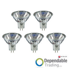 5 x Branded MR11 35mm Diameter 10W 6V Halogen Light Bulb Spot Reflector Lamps
