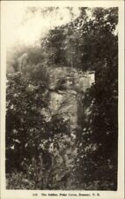Rumney NH Polar Caves The Soldier c1920 Real Photo Postcard