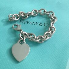 Tiffany & Co. Heart Tag Bracelet. Return To. Authentic