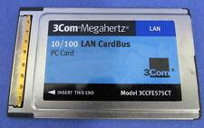 3COM 10/100 LAN CARDBUS MODEL 3CCFE575CT NNB
