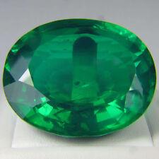 TWO pcs - 0.5 Carat Russian Sim Diamond OVAL CUT 6 x 4 mm Emerald green