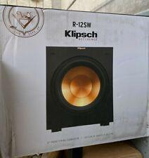 Klipsch R-12SW Powered Subwoofer - Black